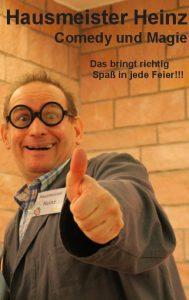 Alleinunterhalter Mathias Amstadt Zauberei Comedy Hausmeister