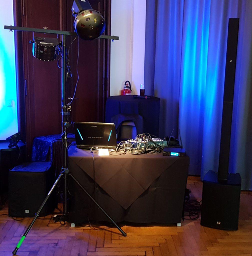 DJ Anlage klein