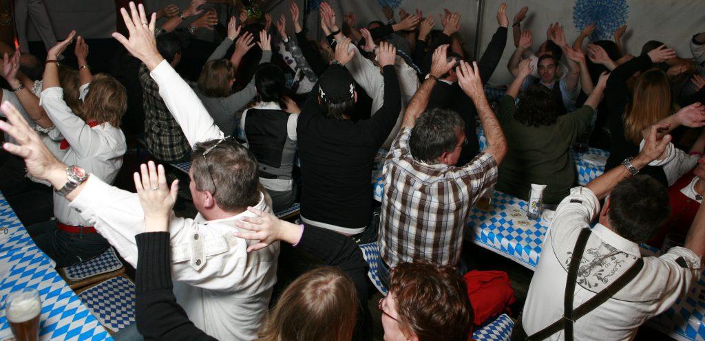 Karaoke im Rudel